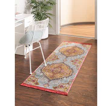 Image of  Gold Santiago Runner Rug