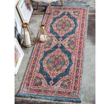 Image of 2' 2 x 6' Havana Runner Rug