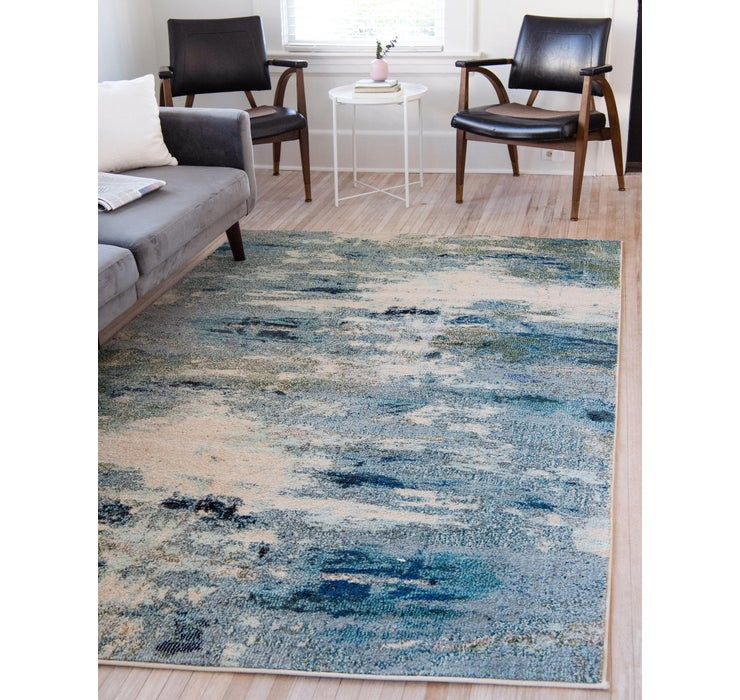 Light Blue Theia Rug