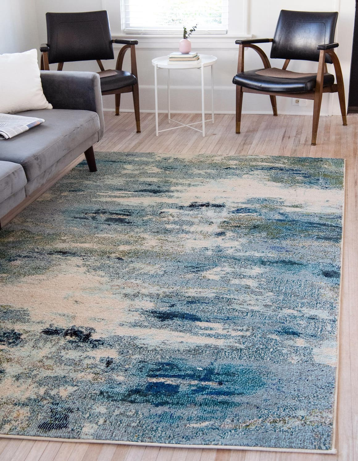 Light Blue 9 X 12 Theia Rug Rugs Com