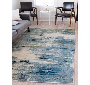 Image of  Light Blue Theia Rug