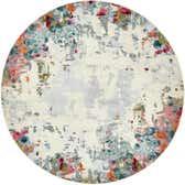 8' x 8' Theia Round Rug thumbnail