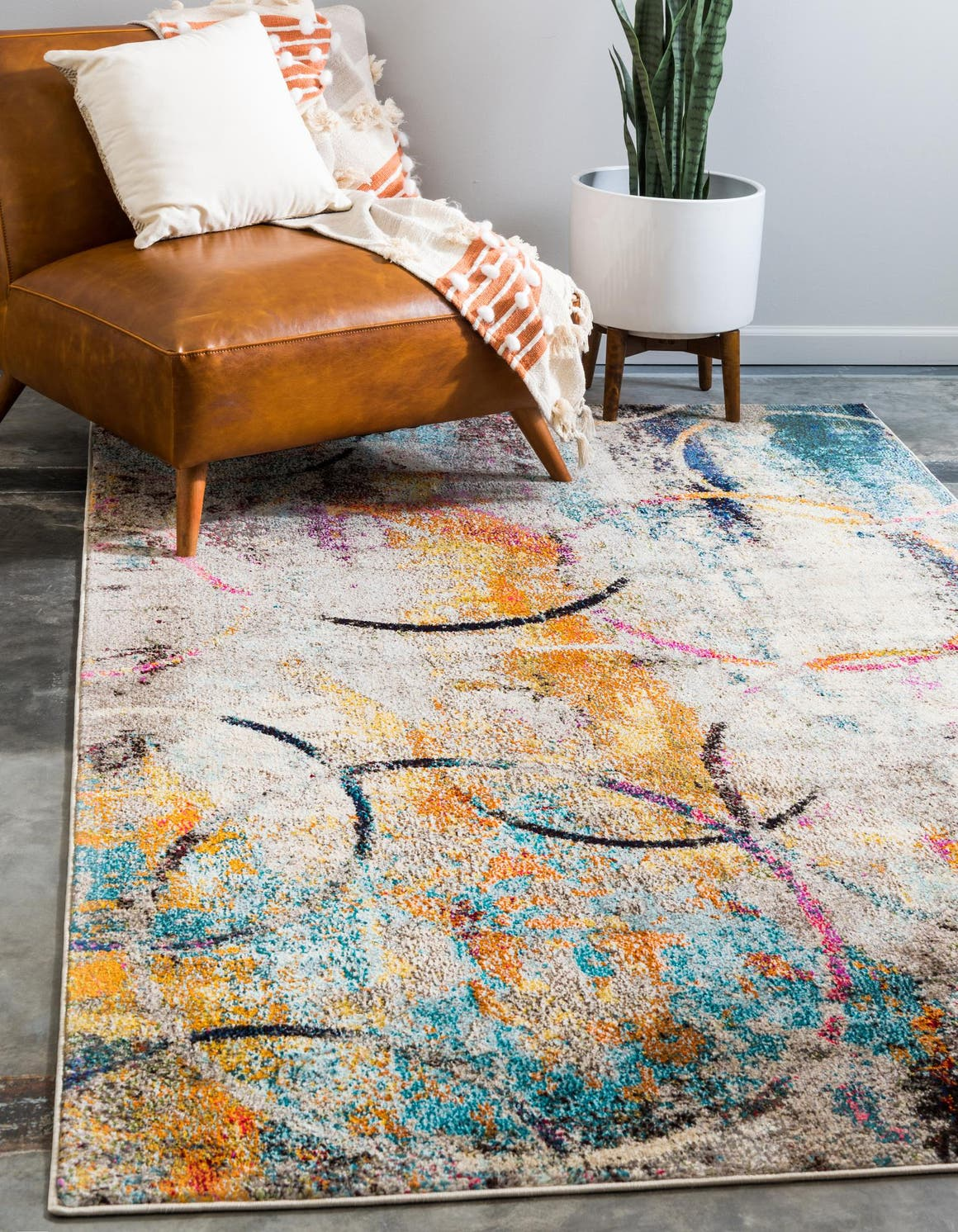 Multicolor 245cm X 305cm Spectrum Rug