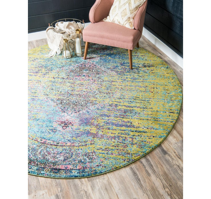 Image of 4' x 4' Arte Round Rug