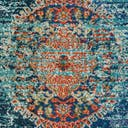 Link to Turquoise of this rug: SKU#3140026