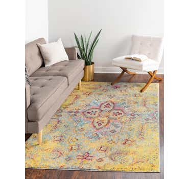 Image of  Yellow Carnevale Rug