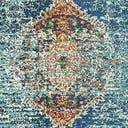 Link to Turquoise of this rug: SKU#3140092