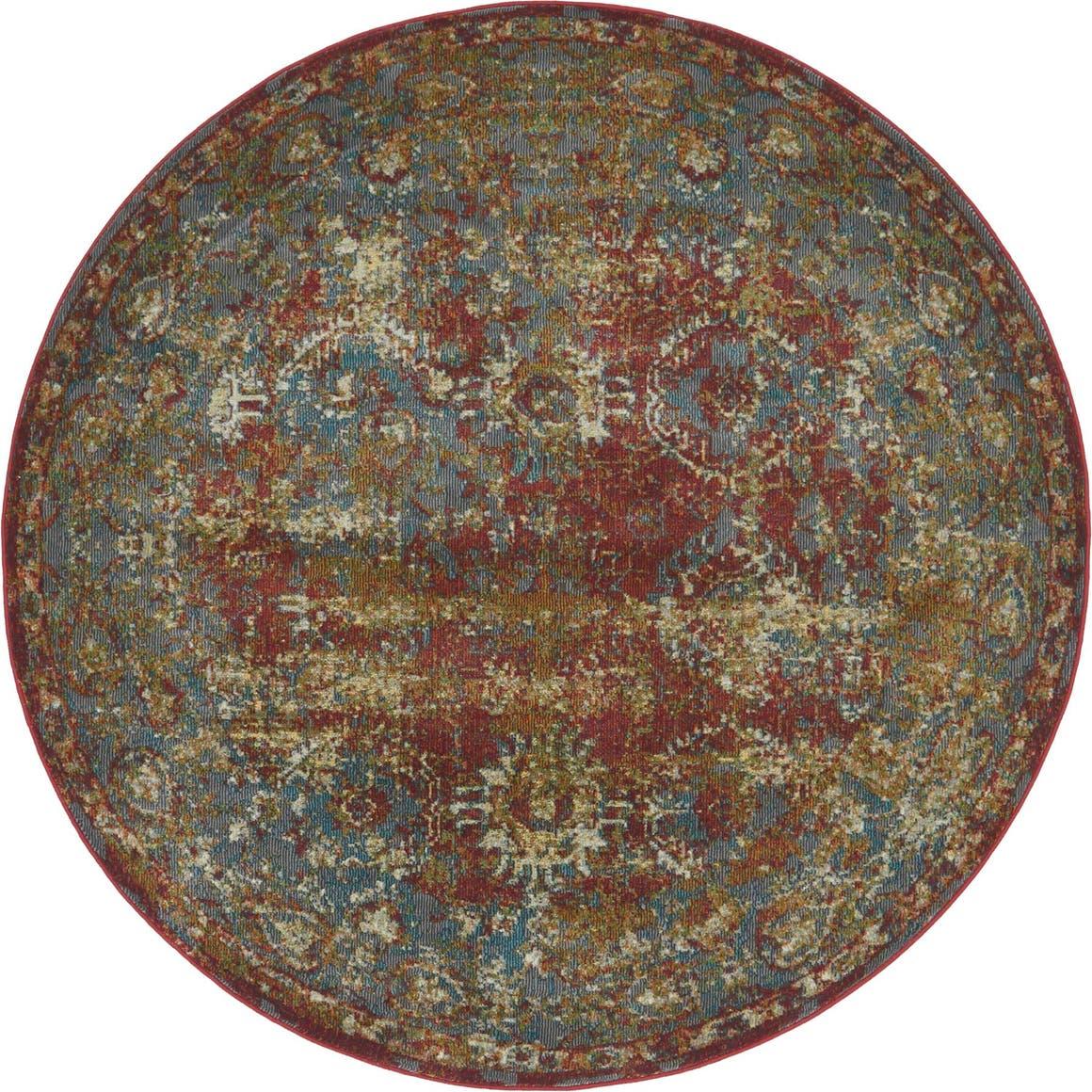 5' 5 x 5' 5 Havana Round Rug main image