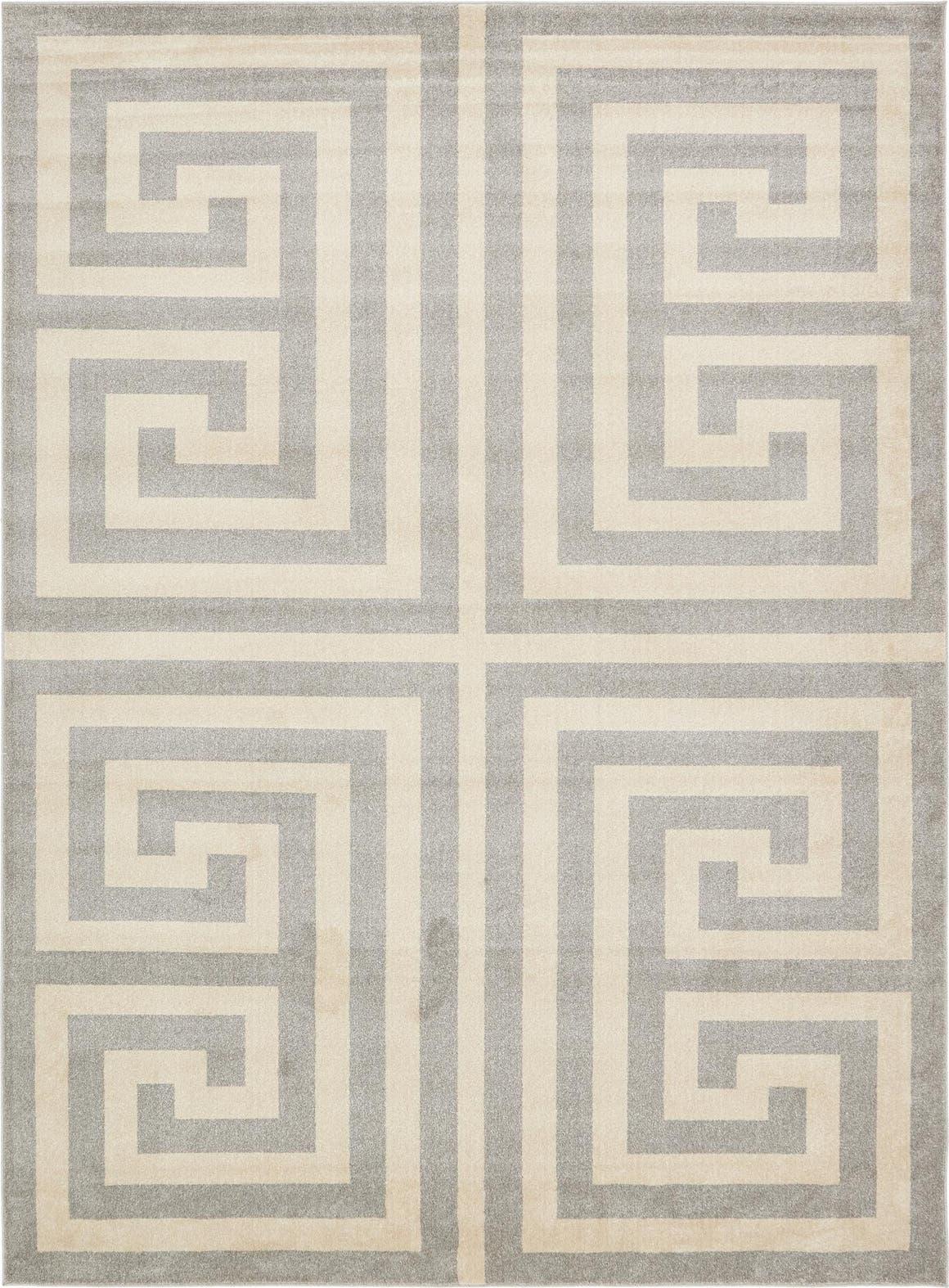 10' x 13' Greek Key Rug main image
