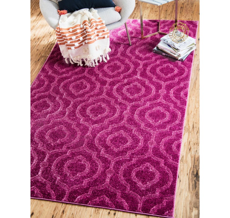 9' x 12' Lattice Frieze Rug