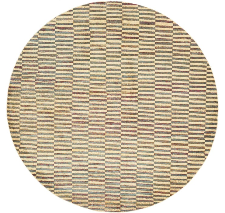 8' 2 x 8' 2 Tribe Round Rug