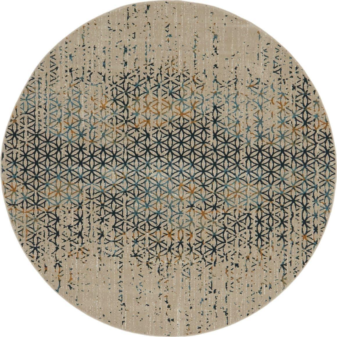 6' x 6' Mirage Round Rug main image