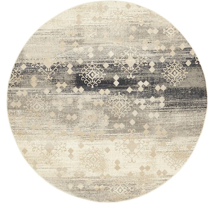 Image of 6' x 6' Mirage Round Rug