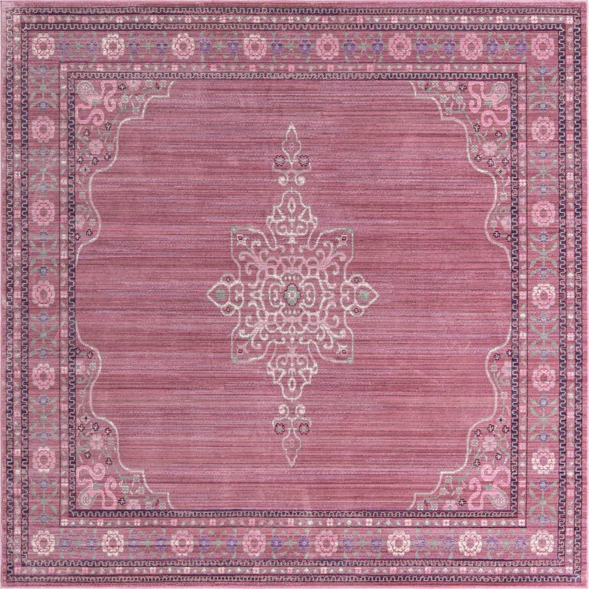 Pink 8 X Alexis Square Rug Rugs