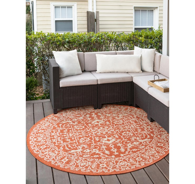 183cm x 183cm Outdoor Botanical Round...