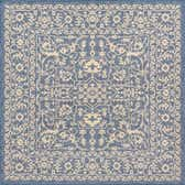 6' x 6' Outdoor Botanical Square Rug thumbnail