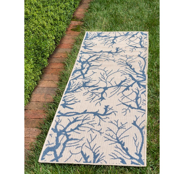 Image of 2' x 6' Outdoor Botanical Runne...
