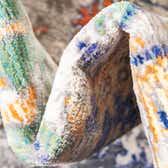 6' x 9' Aqua Rug thumbnail