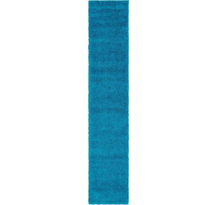 2' 6 x 13' Solid Shag Runner Rug