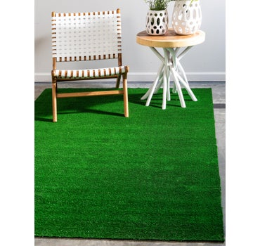 5' x 8' Outdoor Grass Rug main image