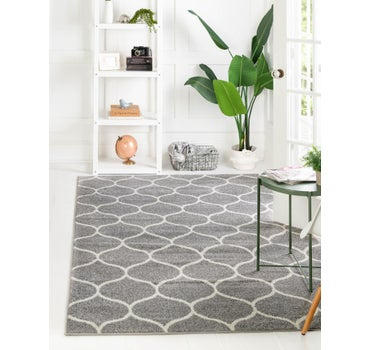 5' x 8' Trellis Frieze Rug main image