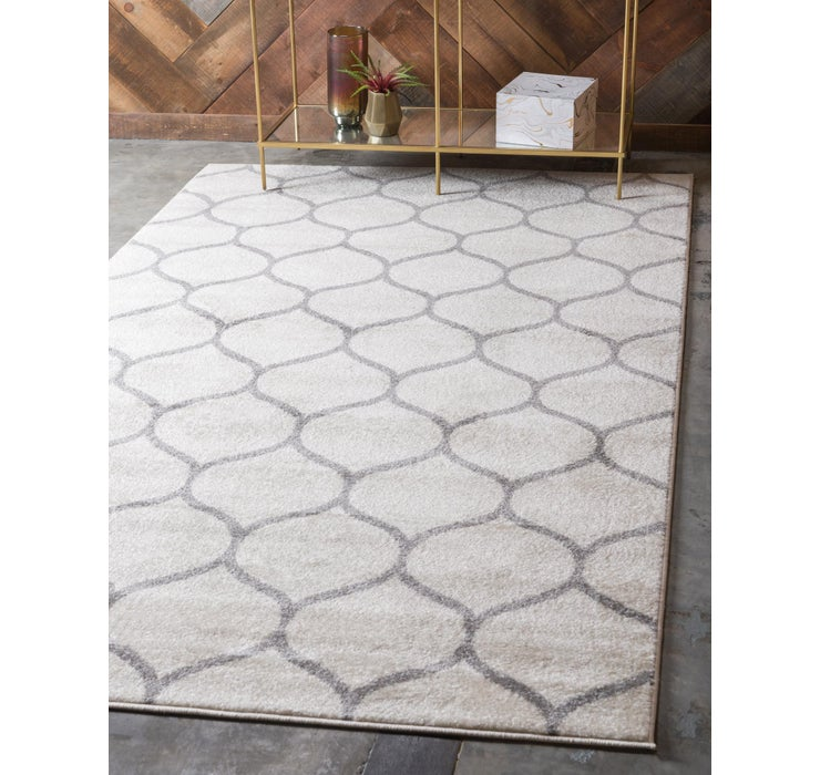 Image of 152cm x 245cm Trellis Frieze Rug