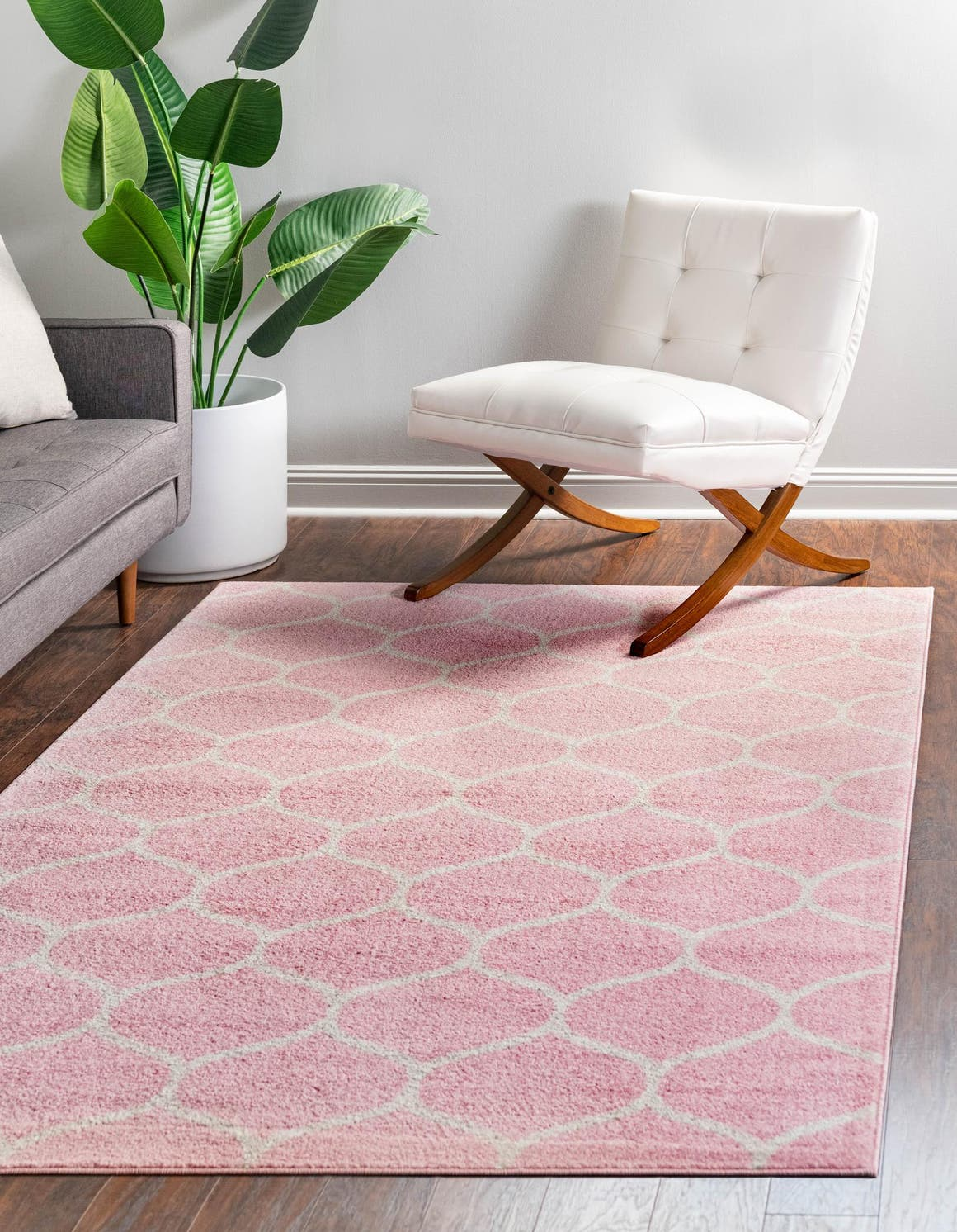 4' x 6' Trellis Frieze Rug main image