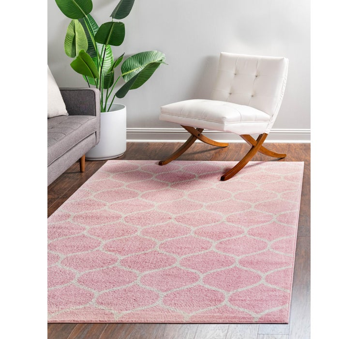 5' x 8' Trellis Frieze Rug