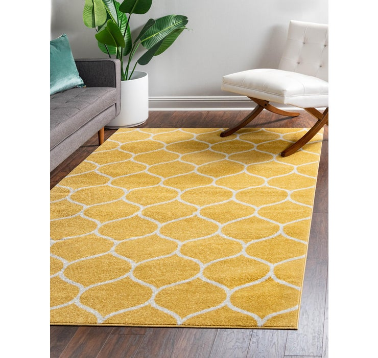8' x 11' Trellis Frieze Rug