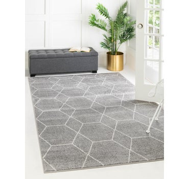 8' x 10' Trellis Frieze Rug main image