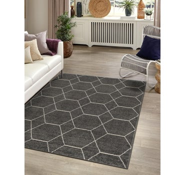 7' x 10' Trellis Frieze Rug main image