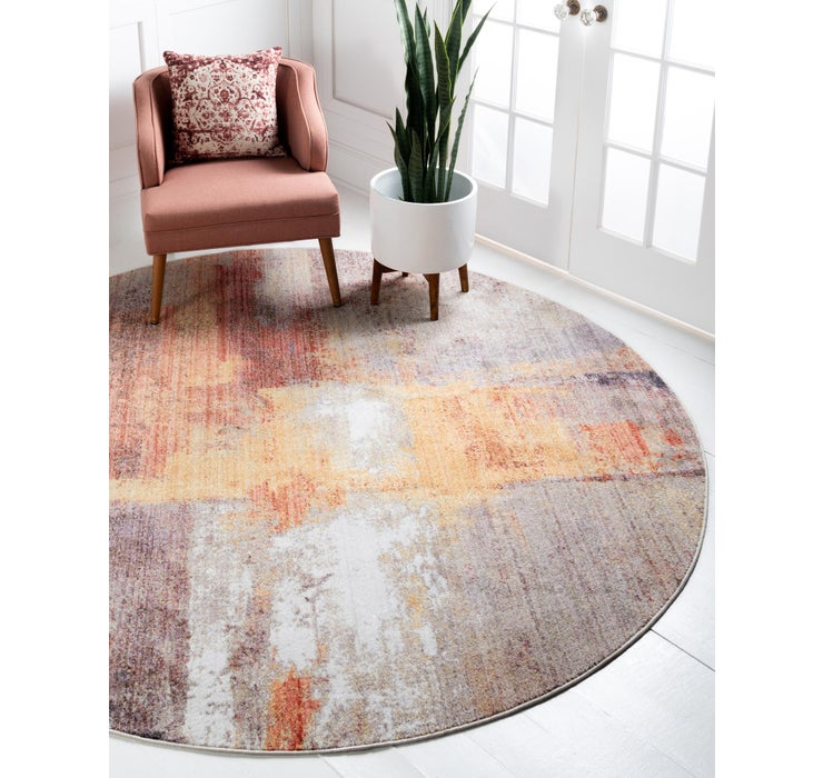 Image of 245cm x 245cm Downtown Round Rug