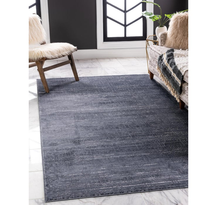 Image of Jill Zarin Navy Blue Uptown Collection Rug