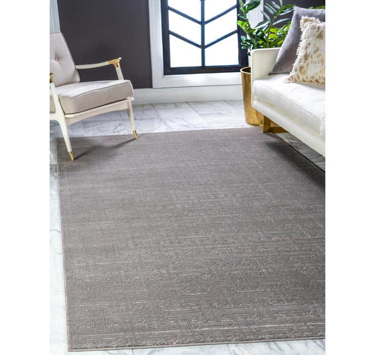 Image of Jill Zarin Gray Uptown Collection Rug