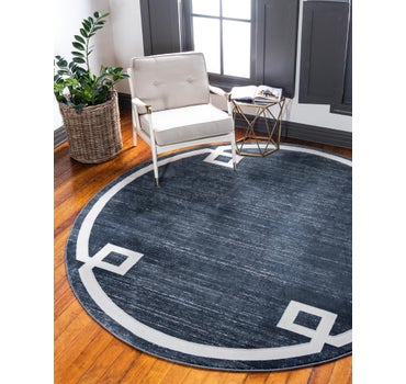 Jill Zarin 8' x 8' Uptown Collection Round Rug main image