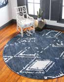 Jill Zarin 8' x 8' Uptown Round Rug thumbnail