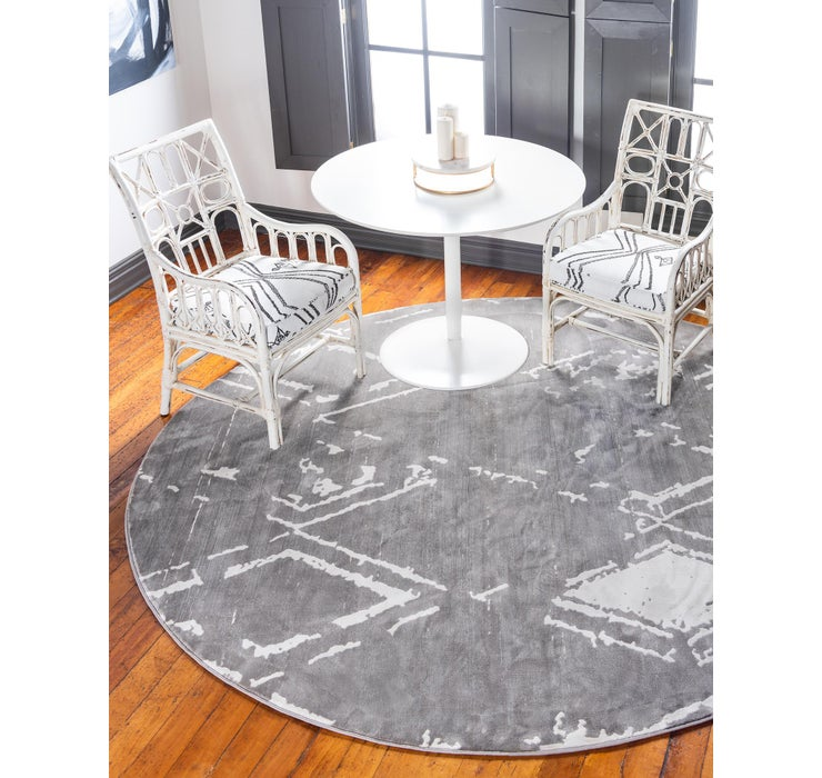 Jill Zarin 8' x 8' Uptown Collection Round...