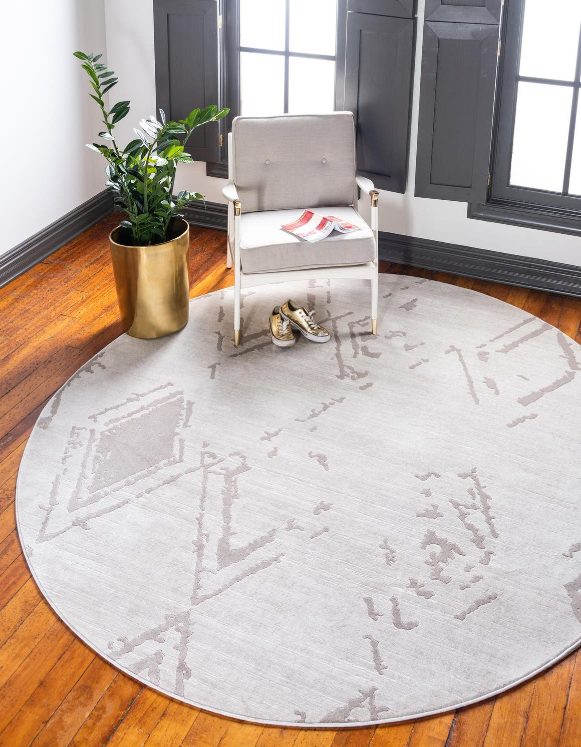 Jill Zarin 8' x 8' Uptown Round Rug main image