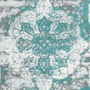 Link to Turquoise of this rug: SKU#3141319