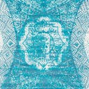 Link to Turquoise of this rug: SKU#3141555