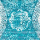 Link to Turquoise of this rug: SKU#3141558