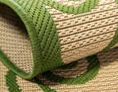 2' 2 x 3' Outdoor Botanical Rug thumbnail