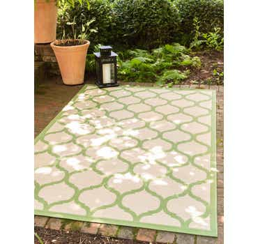 Image of 3' 3 x 5' Outdoor Trellis Rug