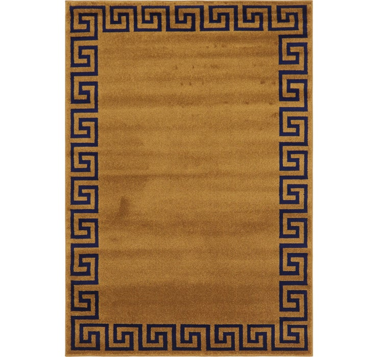 5' 3 x 7' 7 Greek Key Rug
