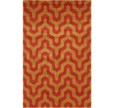 Image of  Red Chevron Rug
