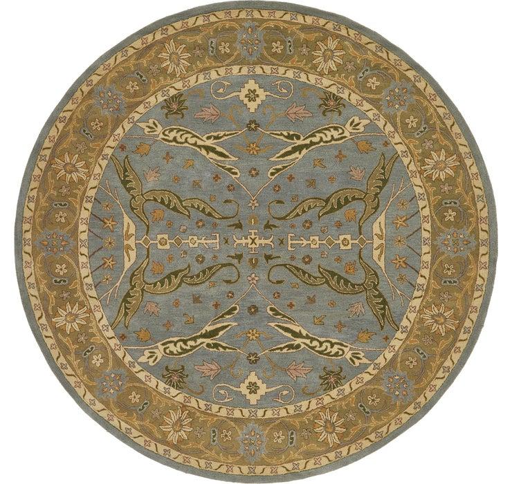 370cm x 370cm Classic Agra Round Rug
