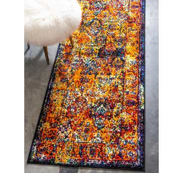 Image of  Orange Brighella Runner Rug