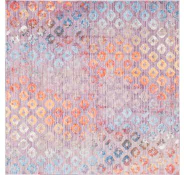 Image of  Lilac Andromeda Square Rug