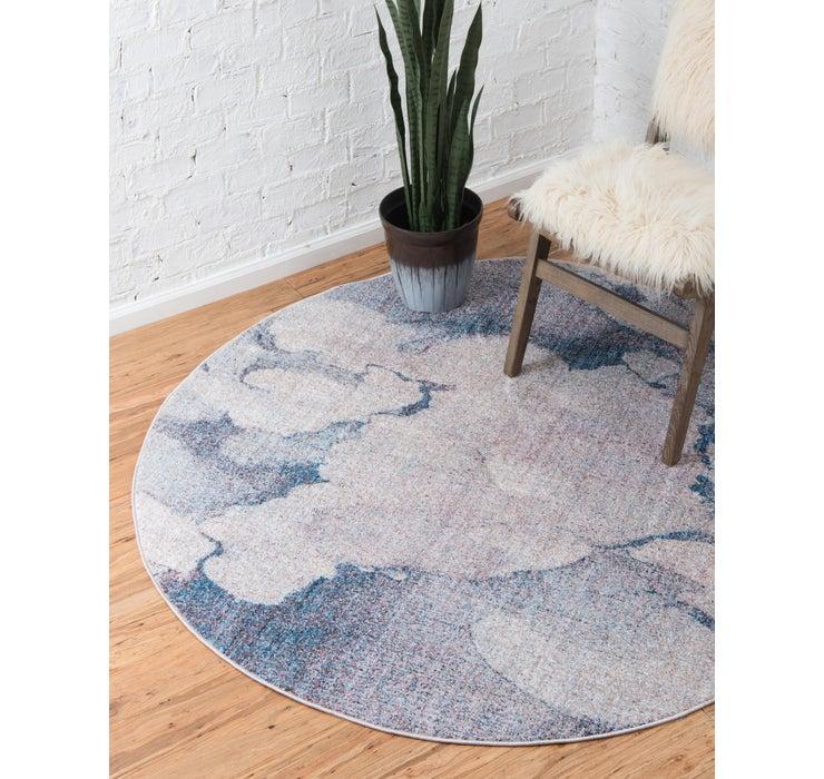 Image of 100cm x 100cm Prism Round Rug