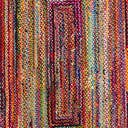 10' x 14' Braided Chindi Rug